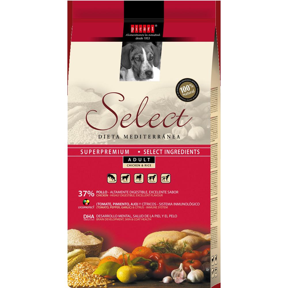 Mejor Pienso Para Perros Con Select Puppy Adult Chicken & Rice