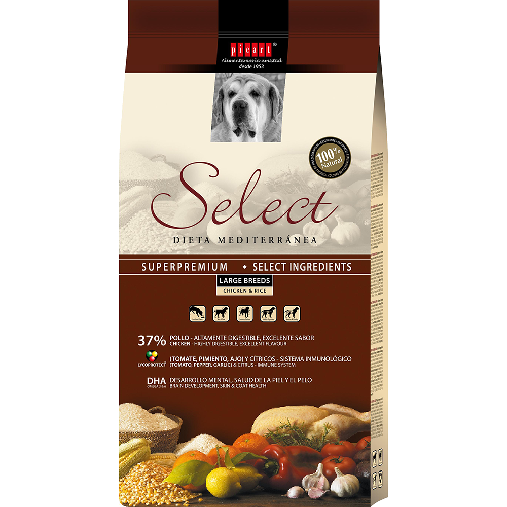Mejor Pienso Para Perros Mayores Select Adult Large Breed