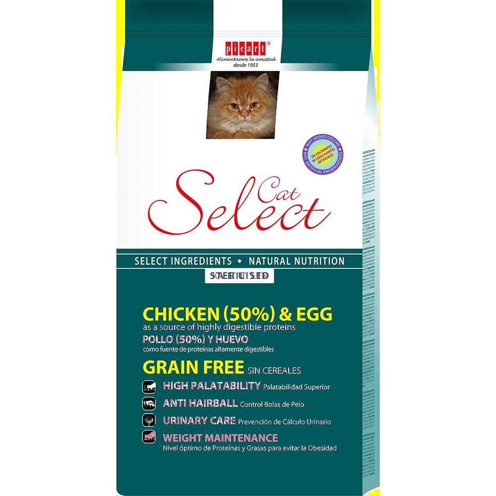 Comida Para Gatos Esterilizados Select Cat Sterilised