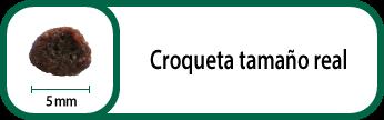 Tamaño croqueta Select Puppy Mini 5 mm