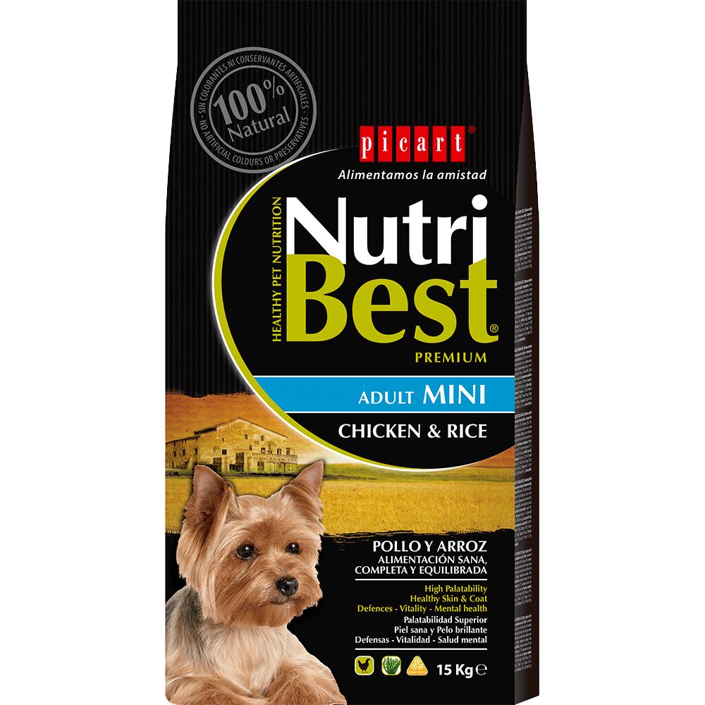 Pienso Para Perros Mini Nutribest