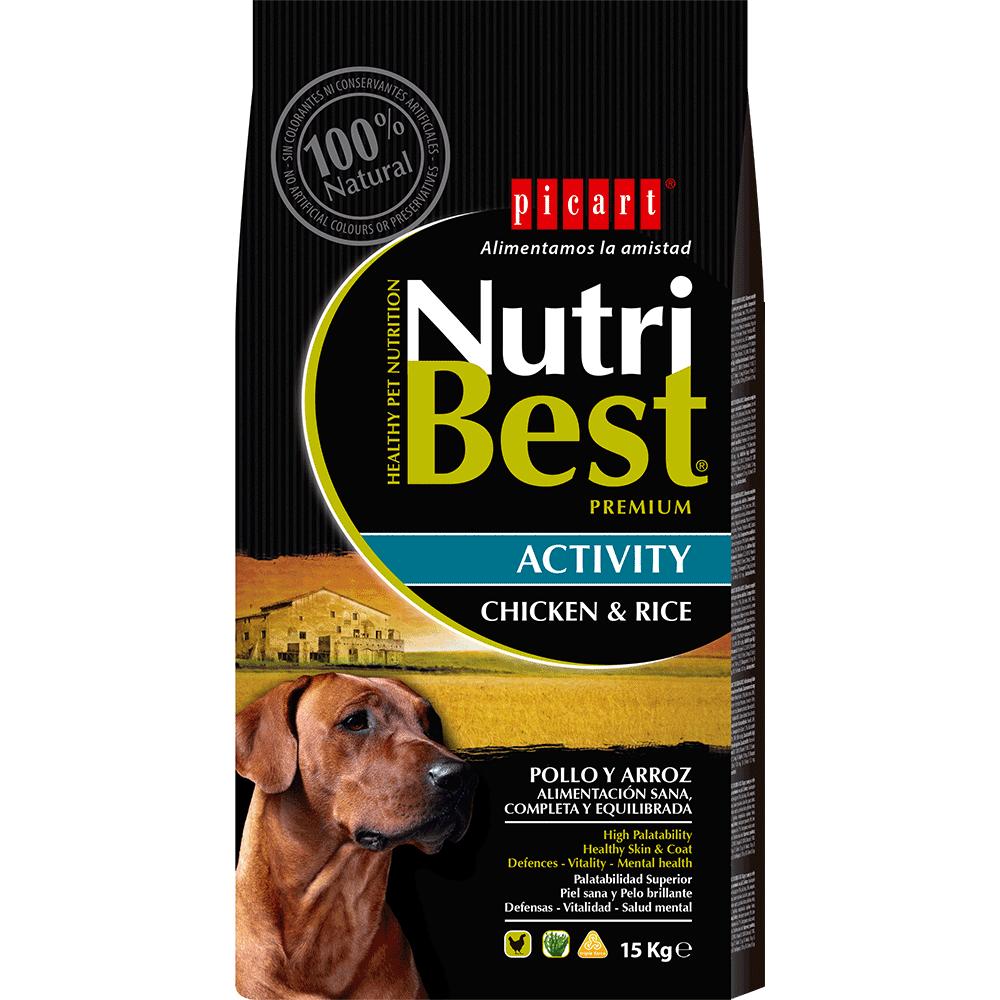 Mejor Pienso Para Perros NutriBest Activity