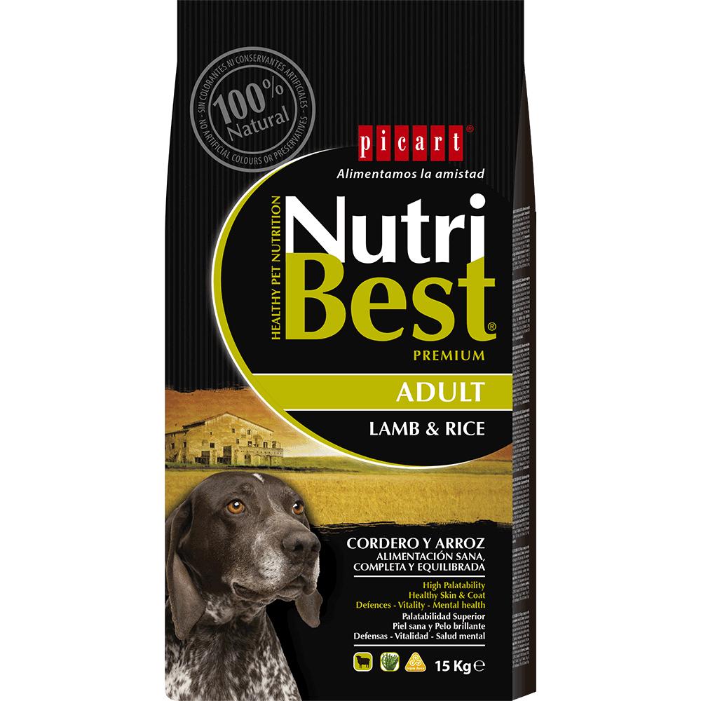 Pienso Para Perros Y Comida Natural Para Perros Nutribest Dog Lamb Rice