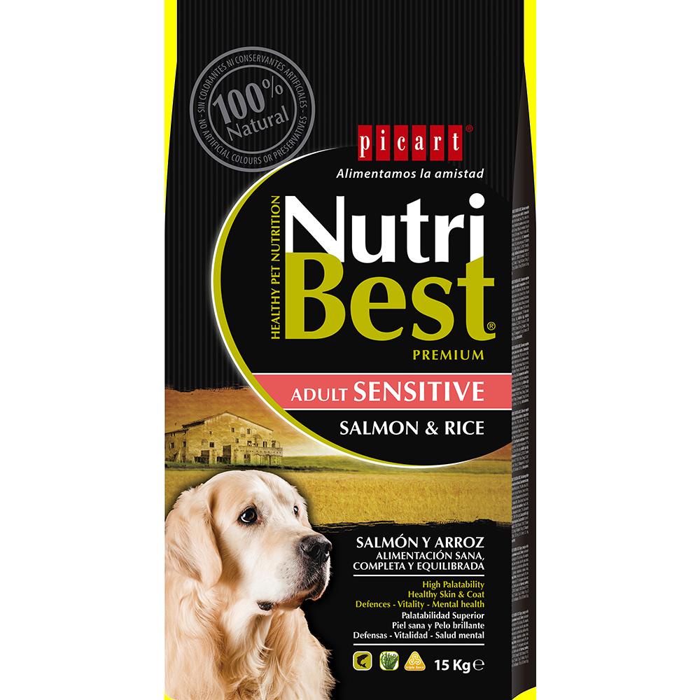 Comida Natural Para Perros NutriBest Sensitive Salmon & Rice
