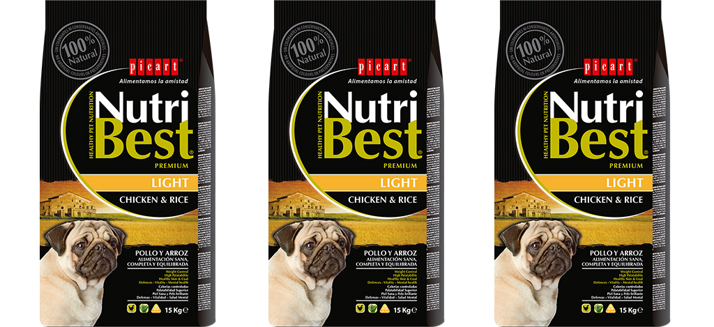 Presentamos El Nuevo Nutribest Light Para Perros Adultos Con Tendencia Al Sobrepeso