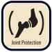PROTECTION FOR THE JOINTS:
