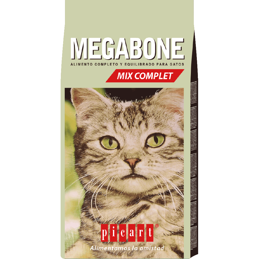 Natural cat food Megabone mix complet