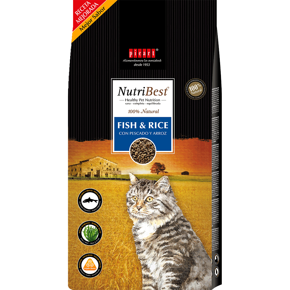 cat food nutribest