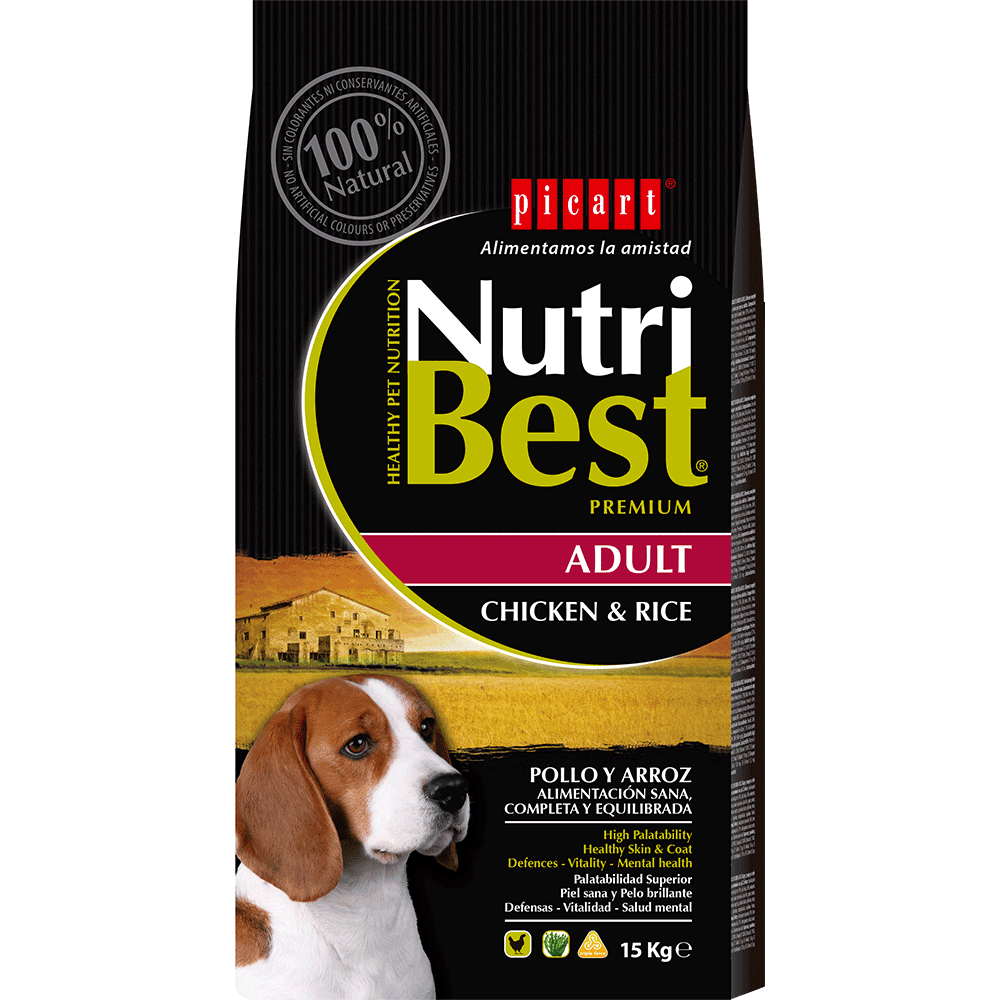 Pienso Premium Para Perros Nutribest Dog Adult