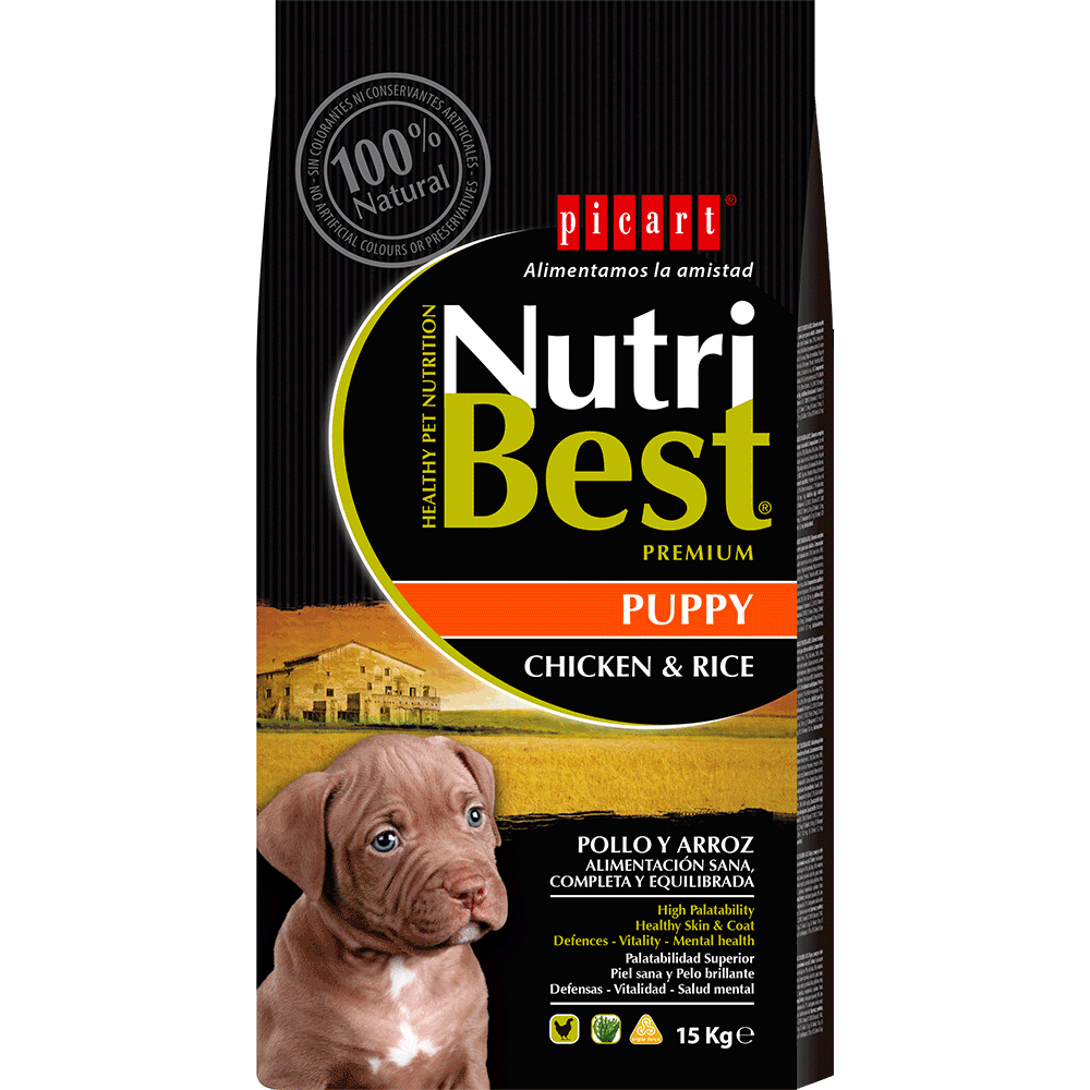 puppy food nutribest