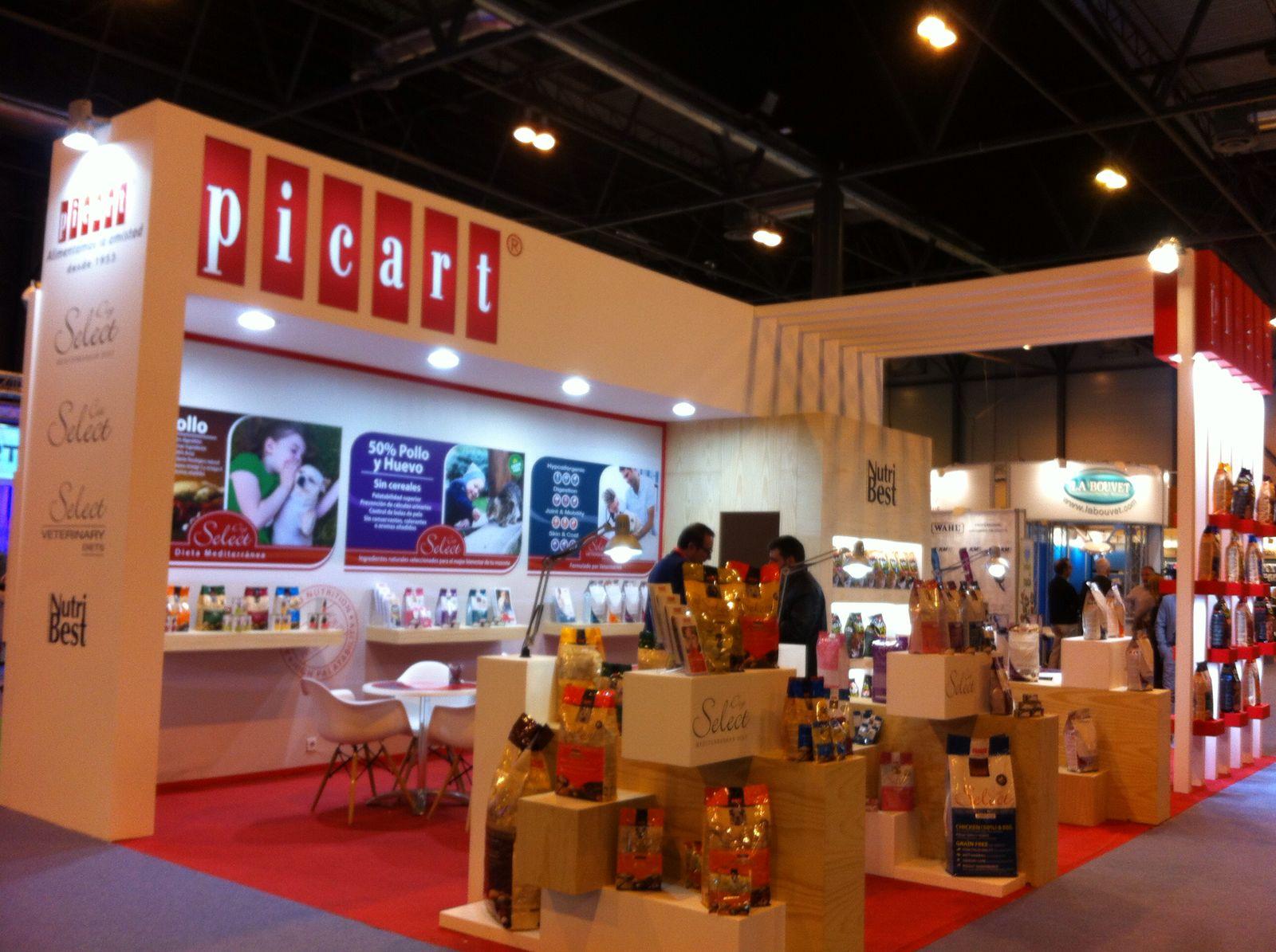 Stand de Picart Petcare en Iberzoo-Propet 2017