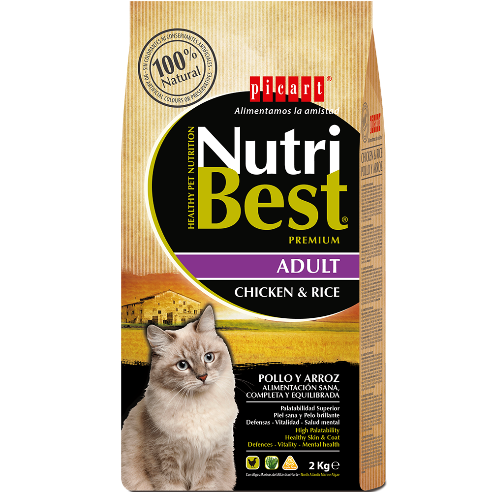 NutriBest Cat Chicken & Rice