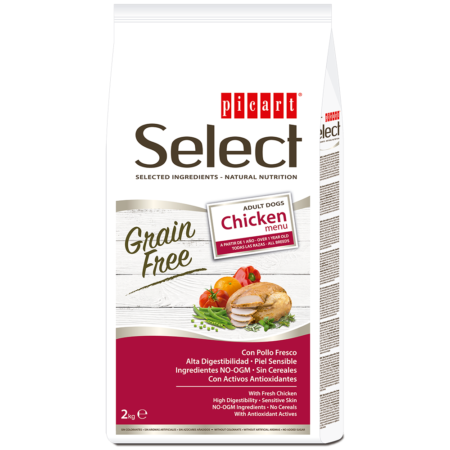 Picart Select Grain Free Chicken Menu