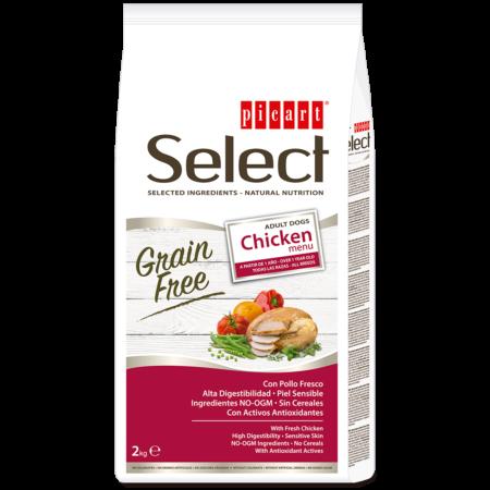 Select Adult Grain Free Chicken Menu