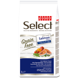 Picart Select Grain Free Salmon Menu