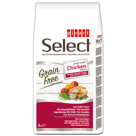 SELECT Adult Grain Free Chicken Menu