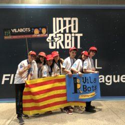 Los Vilabots Compiten En La Final Estatal De La First Lego League