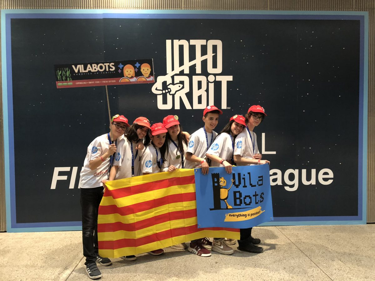 Los Vilabots Compiten En La Final Estatal De La First Lego League
