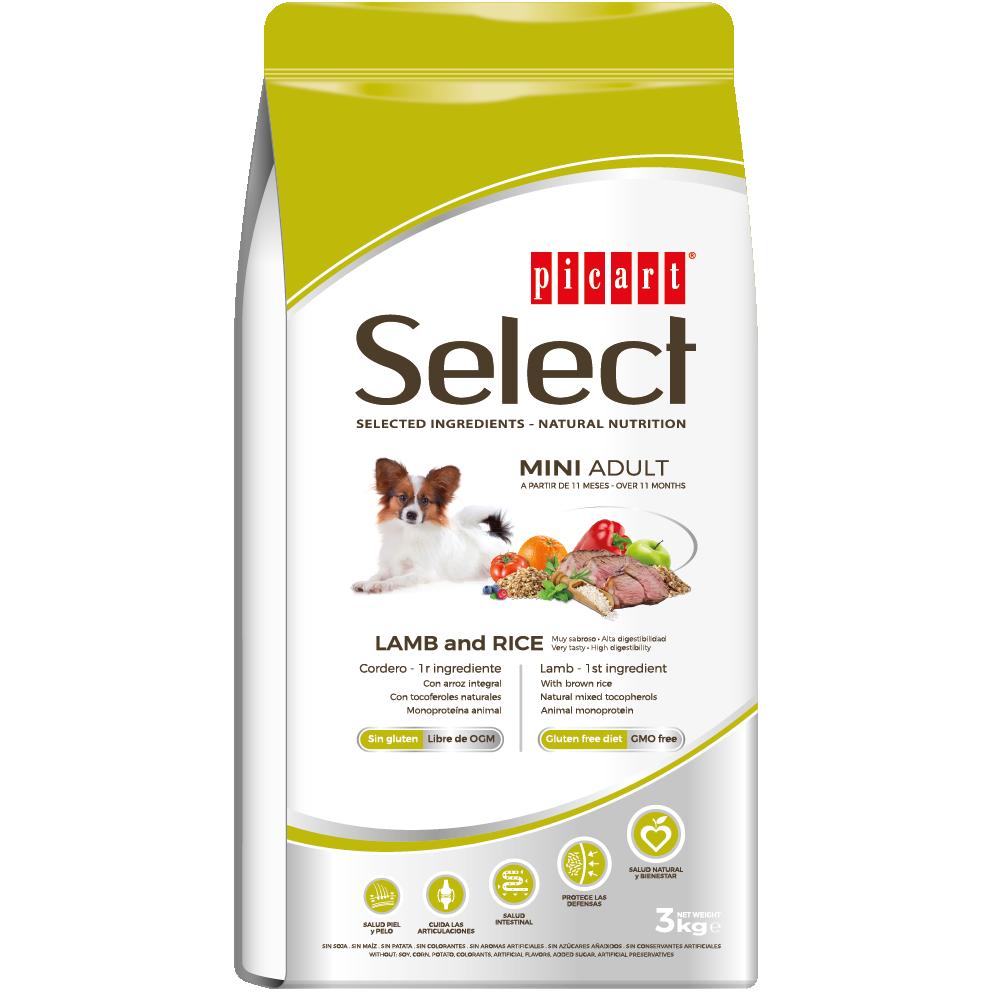Picart Select Mini Adult Lamb & Rice 3kg